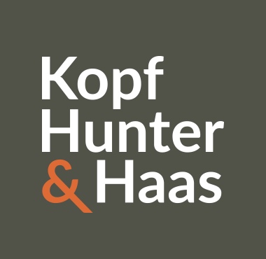 Kopf Hunter Haas Logo